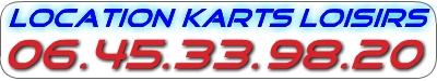 Location Karts Loisisrs 06 45 33 98 20